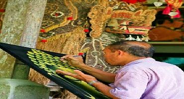 batuan art painting